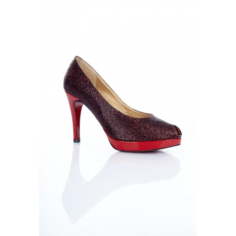 zapato-mujer-glitter-rojo
