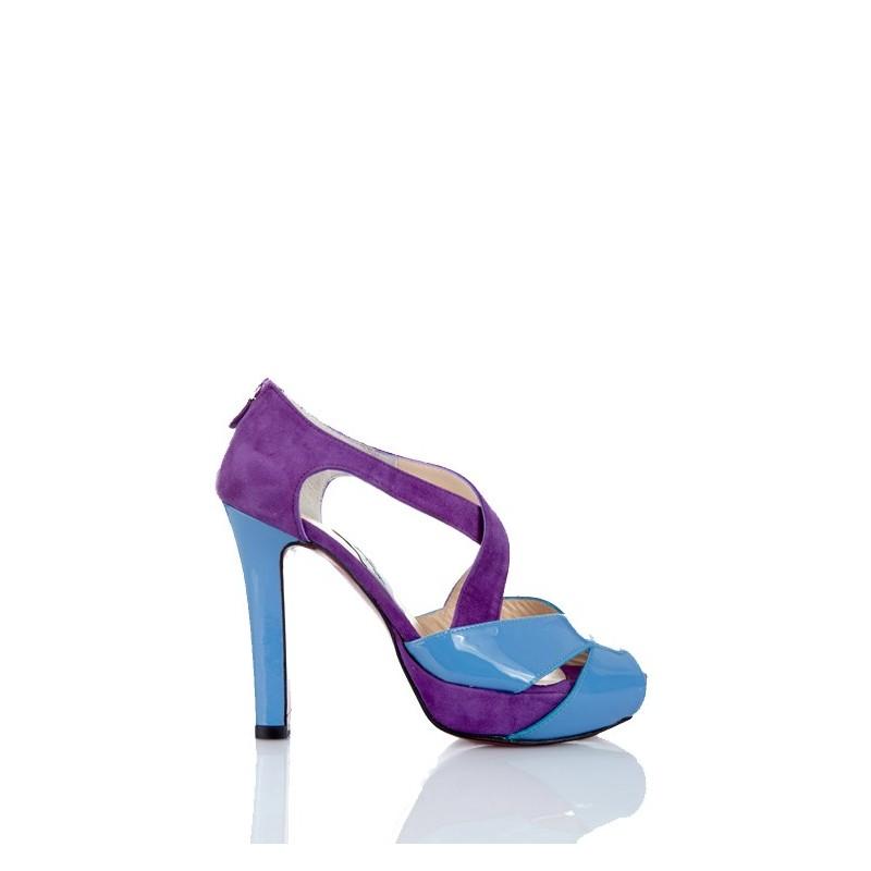 zapatos de novia peeptoes rosas sandalias