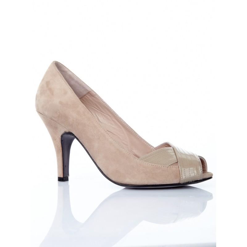 zapatos-de-mujer-peeptoes-marrones