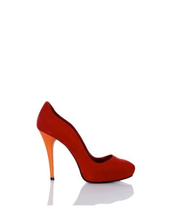 zapato-mujer-tacon-alto-ante-rojo-piel-naranja