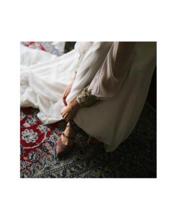 zapatos nude novia