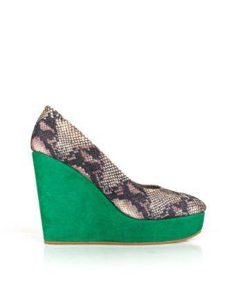 zapatos de mujer con cuña plataforma