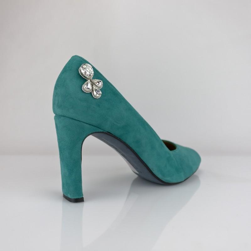 pedreria para tus zapatos bordado a mano en cristal swarovski