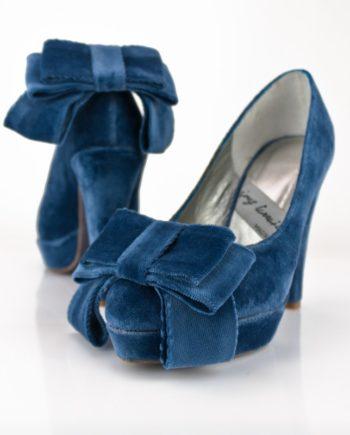 lazo-grande-zapatos-terciopelo-azul