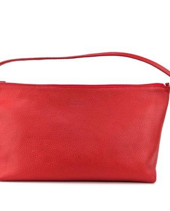 bolso rojo grande de mano