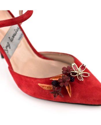 adorno personalizado para tus zapatos cristales y porcelana flexible japonesa