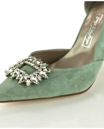 pedreria adorno cristales para tus zapatos de quita y pon