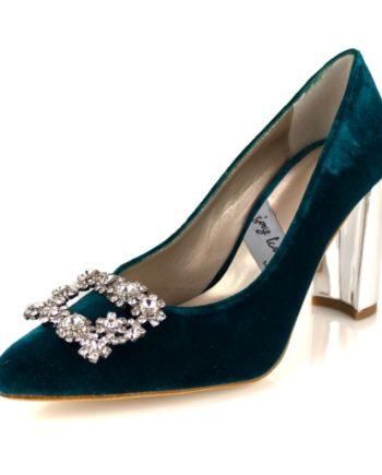 broche para tus zapatos de pedreria cristales hebilla cuadrada rectangular