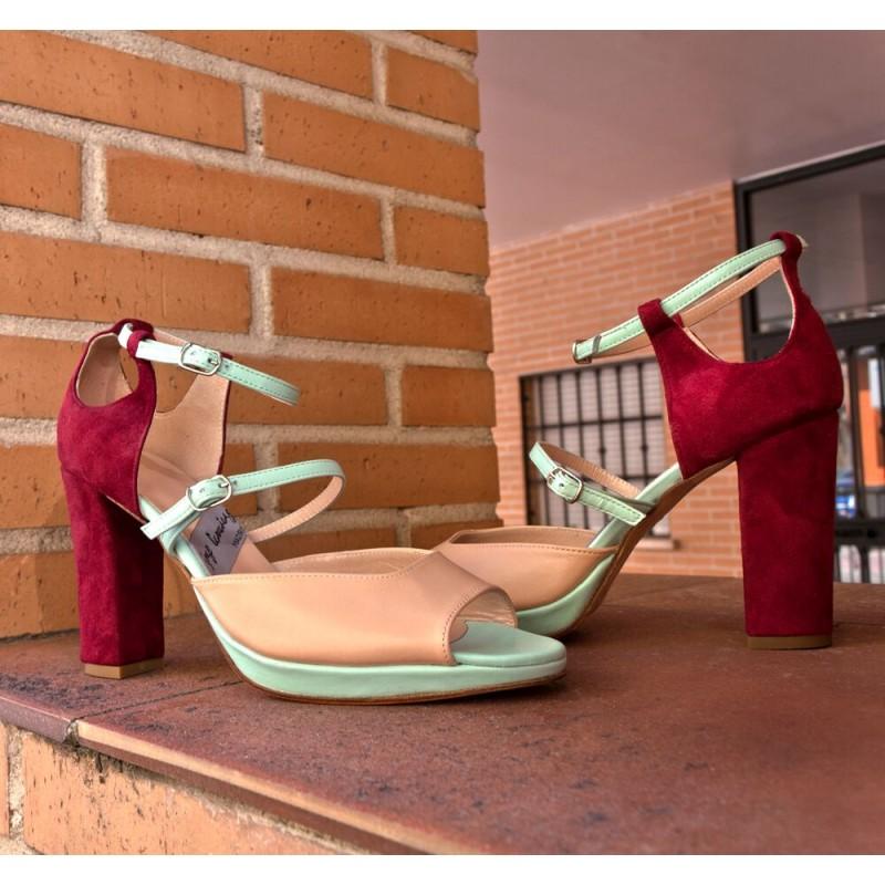 Plataforma para añadir a tus zapatos de tacon personaliza a tu gusto